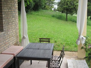 Family property in the beautiful Marche countryside near to the Conero sea park
