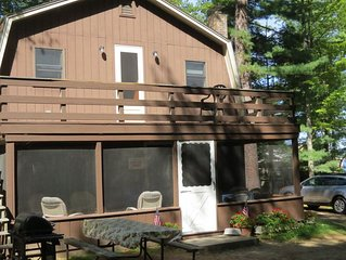 3 BR Lake House with Private Beach & Dock