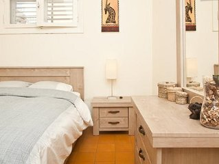 Best location in Tel Aviv: next to trendy Dizengoff & Peaceful Gordon st & Beach