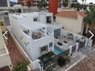 Designer Modern House!Steps from the Beach! Huge Rooms! Private Pool! Must see!