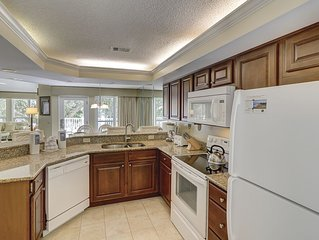 Luxury 3BR/3BA Villa, Steps to Sand, Tennis and Golf, Oceanfront Community