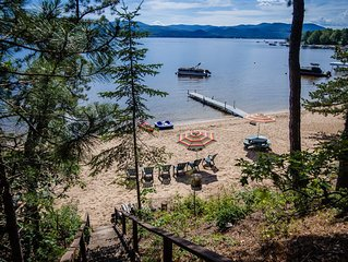 OSSIPEE LAKE - Gorgeous house - BEST BEACH ON THE LAKE- Private Dock and Mooring