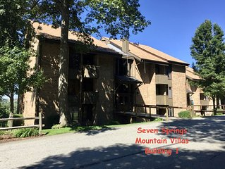 Mt Villas Condo; Ski, Board, Play and/or Relax * Seven Springs; Beautiful Views