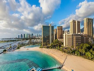 Stunning 2 bedroom at Hilton Hawaiian Village, Grand Waikikian. Reserve now!