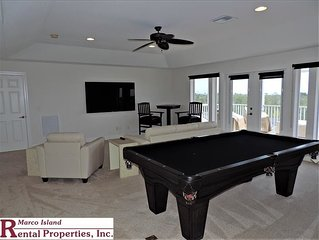 524 Spinnaker; Large and Beautiful home by Tigertail Beach. Lots of entertainmen