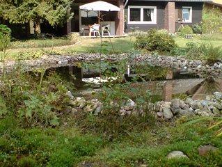Cozy Chalet in Winsen with Garden