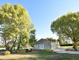 Beautiful home in rural location near Bergerac (8 km), near unique spots