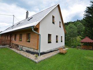 Comfortable holiday home with sauna and billiards, ski slope 2 km