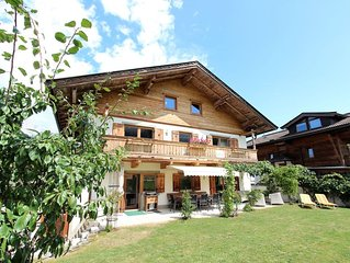 Unique chalet in the center of Elmau, 100 m from skililft