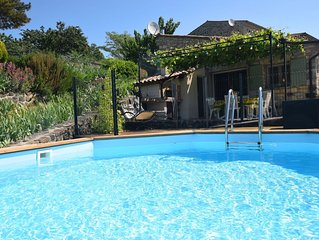 A beautiful, completely renovated village house with private swimming pool