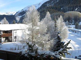 Ferienwohnung Davos Dorf für 4 - 5 Personen mit 2 Schlafzimmern - Ferienwohnung
