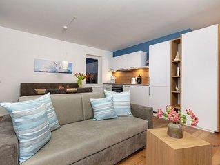 Appartement, Seeblick und Balkon, 49qm, 1 Wohn-/Schlafzimmer, max. 2 Personen