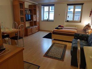 1 Ferienwohnung, 'Mettnau', 34qm, 1 Wohn/-Schlafzimmer, max. 3 Personen