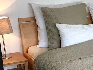 Apartment Tilia, 38qm, Balkon, 1 Wohn-/Schlafzimmer, max. 4 Personen