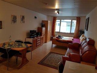 1 Ferienwohnung 'Mainau', 32qm, 1 Wohn-/Schlafzimmer, max. 3 Personen