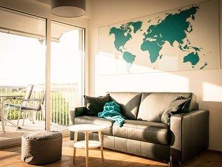 Ferienwohnung West-Blick, 58 qm, 1 Schlafzimmer, max. 4 Personen