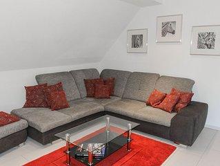 Ferienwohnung, 90qm, Balkon, 2 Schlafzimmer, max. 5 Personen