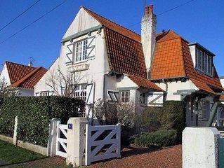 Villa de charme située sur le Boulevard Daloz 'LA TOUQUE'