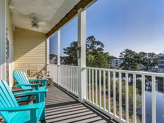 Star Fish * Ocean Keyes-Elevators-Pond View-Balcony-Walk to Beach & Main St