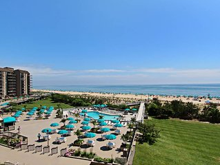 405S: Renovated 2BR Sea Colony Oceanfront condo! Private beach, pools, tennis ..