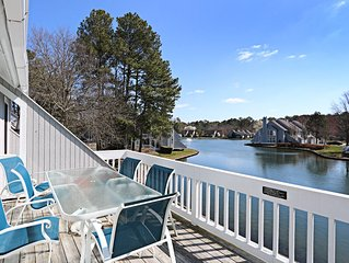 4007F: 2BR+den+loft lakefront Sea Colony West condo | Beach, pools, tennis ...