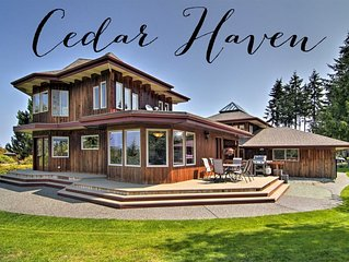 New! Custom Built Port Angeles Home with Water View