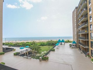 G301: Updated 3BR Sea Colony Oceanfront Condo | Private beach, pools tennis ...