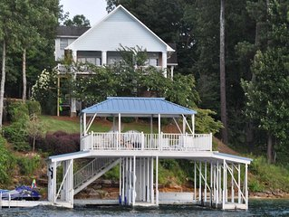 Smith Lake Rentals & Sales - EAGLE'S LANDING - Double decker dock