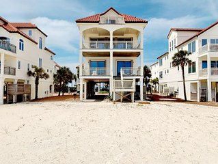 FREE BEACH GEAR! Beachfront, Pets OK, Private Boardwalk, Elevator, 5BR/4.5BA 'Ce
