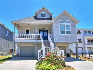 5 Bedroom/ 5 Bath home right on the beach!