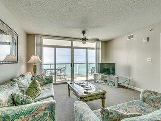 Crescent Keyes 1104, 3 Bedroom Beachfront Condo, Hot Tub and Free Wi-Fi!
