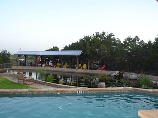 Breathtaking views of Texas Hill Country & amenities galore & private pool