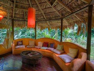 Casa Amarilla Jungle Home near Punta Uva Beach