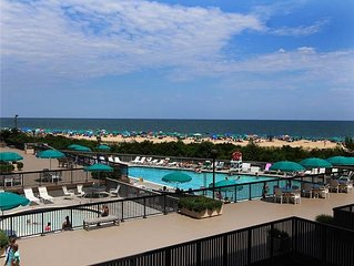 G211: Renovated 3BR Sea Colony Oceanfront Condo! Beach, pools, tennis ...