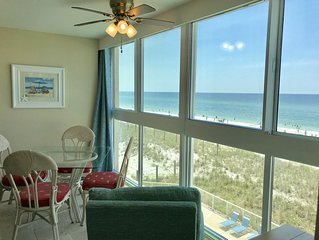 Right on the beach | Enclosed balcony | Amazing View | ask about Free Fun!