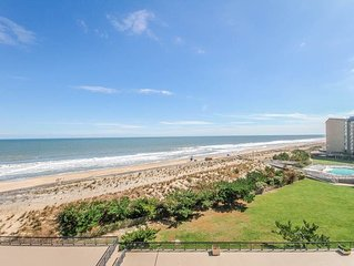 D604: 2BR Sea Colony Oceanfront Condo! Private Beach, Pools, Tennis ...