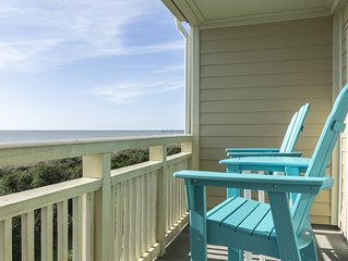 Ocean Breeze: 3 BR / 2 BA condo in Caswell Beach, Sleeps 8