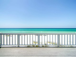 Beach FRONT- Gulf Front Balcony☀️Inspected & Disinfected☀️2BR SeaRenity at Inlet