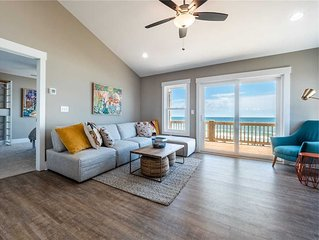 Next to Sea Gallery: Oceanfront 5 BR / 4.5 BA house in Topsail Beach, Sleeps 12