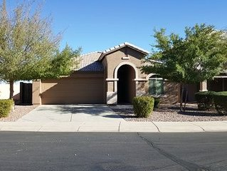 Sensational fully furnished San Tan Valley Home in the Johnson Ranch Community!