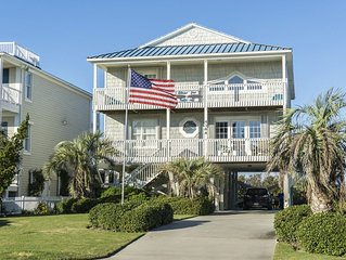 Clear for Take Off: 4 Bed/3.5 Bath with Glorious Marsh Views and Easy Beach Acce