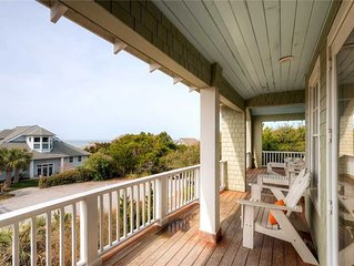 Bella Vista: 6 BR / 6.5 BA rental homes in Bald Head Island, Sleeps 16