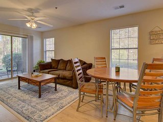 Enjoy a Green Getaway in this 1st Floor Condo overlooking the 1st Hole