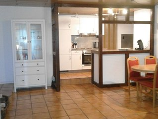 Liebevoll eingerichtete 70 m2 Ferienwohnung fur 2-4 Personen in Oestrich-Winkel