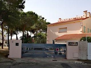 Appartement 3 etoiles a 2 mn a pied de la plage accessible PMR vue sur Pinede