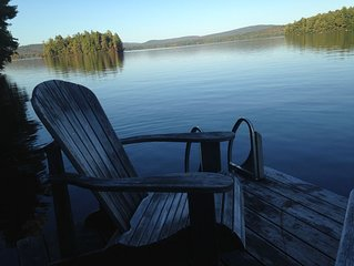Lakefront vacation home on private, pristine Parker Pond