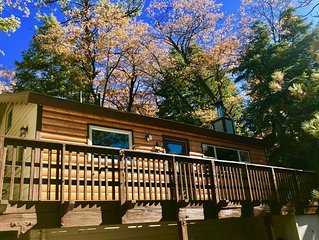 Beautiful cozy cabin in Upper Moonridge with views of Bear Mountain