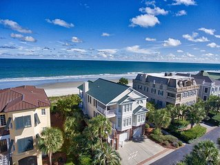 Relaxed Luxury Oceanfront, in Gated Community, Home across from the POOL!!!