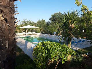 Number 81 - Trullo near Ostuni, quiet rural area with solar & fenced pool