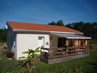 Maison individuelle neuve avec jardin et terrasse